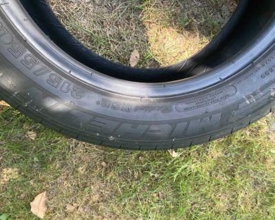 Two Michelin Pilot Tires