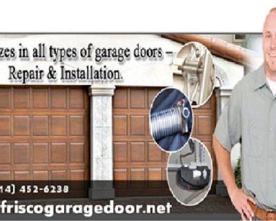 Start $25.95 - Local 1 hrs Garage Door Spring Repair Frisco, TX | Call 214-452-6238