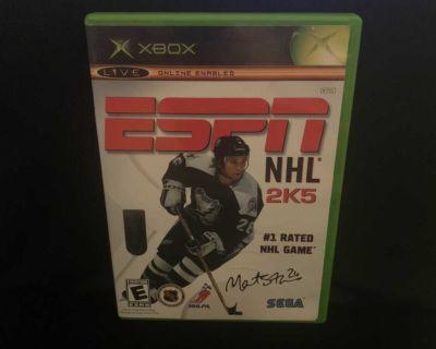 ESPN NHL 2K5 (Microsoft Xbox) Complete CIB