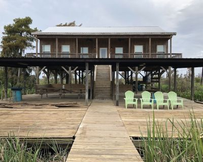 Modern River Camp Located in Akers,LA next to the Famous Sun Buns Bar and Grill - Akers