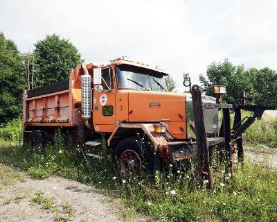 1991 GMC / WHITE AUTOCAR Dump Trucks Truck