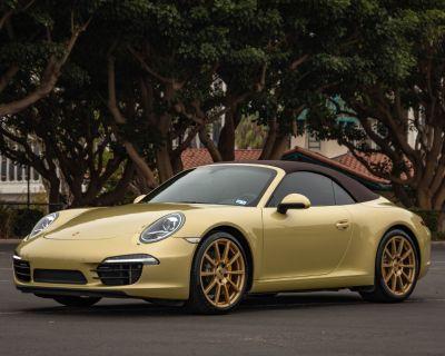 2012 Porsche 911S Cabriolet