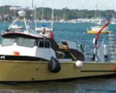 1973 35' x 12' x 3.2' Aluminum Crew/Dive Boat w/COI for 14 persons for charter