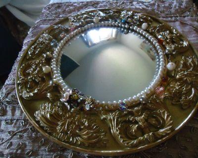 Antique 1900 Mirror
