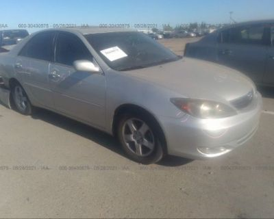 Salvage Silver 2004 Toyota Camry