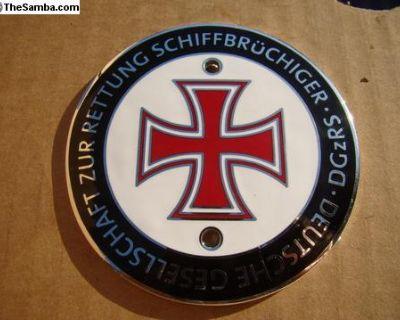 German Red Cross Grill Badge Plakette -