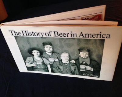 """The History of Beer in America """"Great Information & Illustrations/Perfect """"Coffee Table Book"""""""