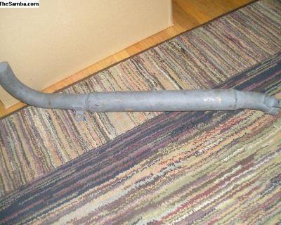 new exhaust damper pipe type 4
