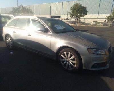 Salvage Gray 2009 Audi A4