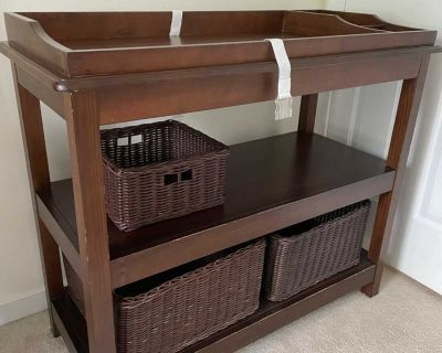 Pottery Barn Kids changing table