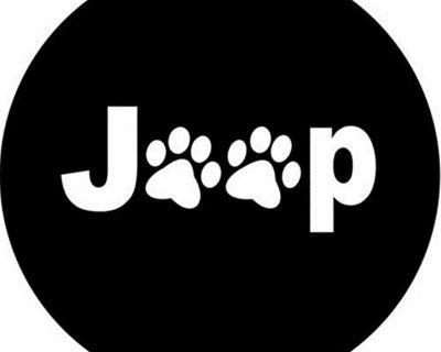 Dee-Type Paws Spare Wheel Tire Cover R16