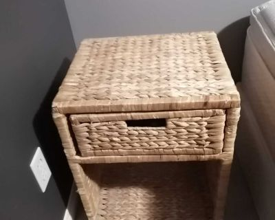 FREE Rattan end Table