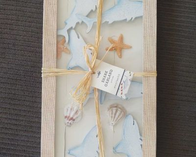Pottery Barn Kids Shark / seashell / starfish garland