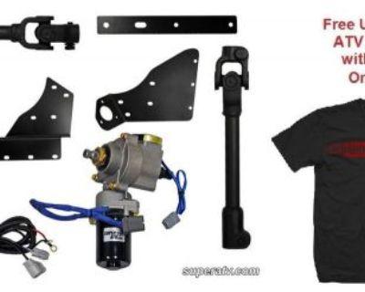 Super Atv Honda Foreman 450 Power Steering Kit - With Free Unhinged T-shirt