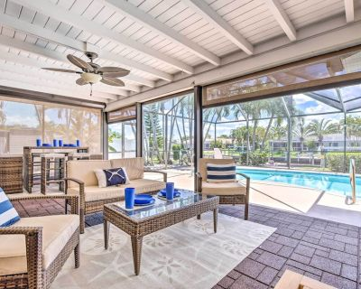 Cape Coral Waterfront Home w/Pool & Dock! - Caloosahatchee
