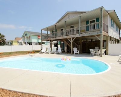 2nd row to ocean-Single Family Cottage- Private Pool- Linens Provided - Emerald Isle