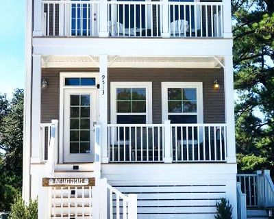 Entire beach house! Comfy beds, Wi-Fi, Cable, Fire Pit, Grill, and Balcony! - East Ocean View