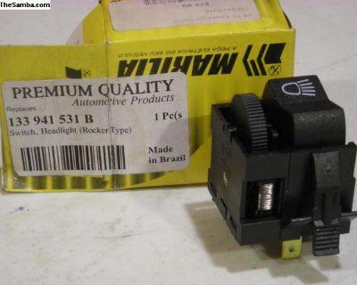 Rabbit Scirocco Super Beetle Ghia Headlight Switch