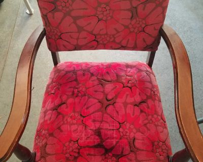 Old vintage chairs