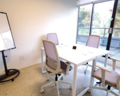 Meeting Room for 4 With Patio Access, North Vancouver