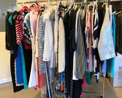 ***HUGE*** Multi-Family Garage/Yard Sale: brand names clothes, shoes, toys, decor, baby stuff, offic