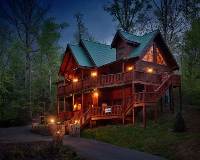From the moment you step into this deluxe cabin you will want to return again. - Pigeon Forge