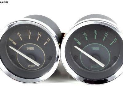 ISP Vintage Series 52MM Fuel Gauge Beige or Green