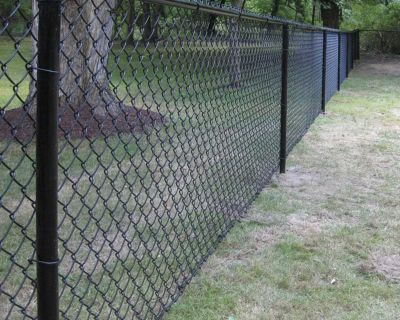 ISO black chain link fence companies