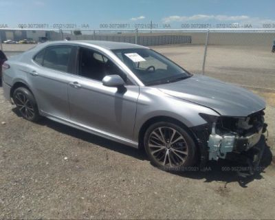 Salvage Silver 2019 Toyota Camry