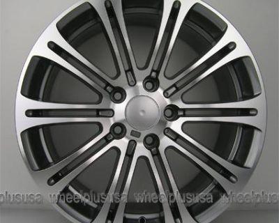 "19"" Bmw M3 Style Wheel & Tire Pkg 128i 135i 325i 328i 330i 335i Z3 Z4 19x8/19x9"