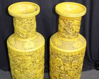 S&J Online Auction: Asian Artifacts & Decor, Furniture + So Much More