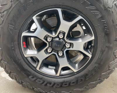 Colorado - 2019 Rubicon Wheels and Tires