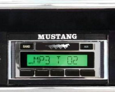 Usa-230 Stereo Radio For A '67-73 Ford Mustang Autosound New Warranty Aux