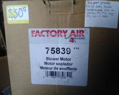 Factory Air Blower motor  Part#75839
