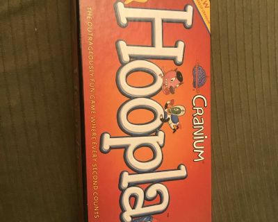 Hoopla game by Cranium. In excellent shape. Adults and teens. 2+ players. PPU.