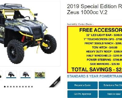 2019 ODES Ravager 1000cc 4x4