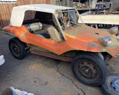 Dune buggy hardtop with glass rear window manx typ