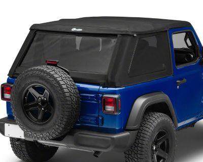 California - Bestop All-New Trektop NX Twill Soft Top for Jeep Wrangler JL 2-Door
