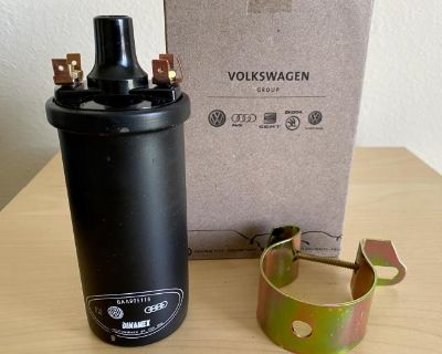 VW Bug Bus Ghia Porsche VW OEM 12v Ignition Coil