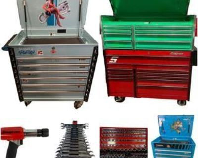 MASSIVE SNAP-ON TOOLS GALORE AUCTION