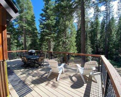 Allenby - Backs to Tahoe's Hiking and Biking Trails!- Adorable 3+ BR Cabin in the Woods! - Kingswood Estates