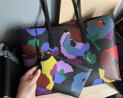 Kate Spade large tote & Pouch