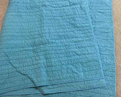 Twin Teal Quilt