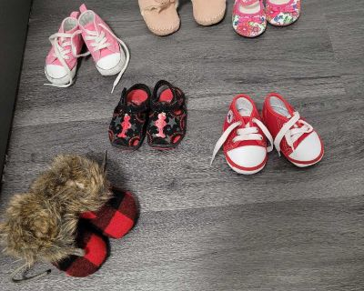 Size 3 baby girl shoes