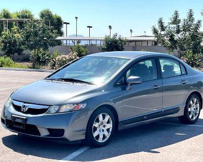 Used 2009 Honda Civic LX Sedan 5-Speed AT