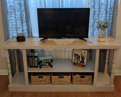 Entertainment Center - Solid Wood - Newly Refurbished
