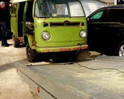 Bay Camper Bus Project Parts Van