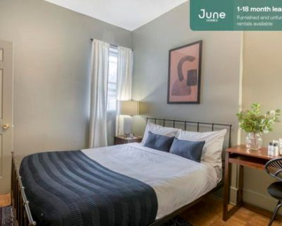 #336 Queen room in Columbia Heights 4-bed / 2.0-bath apartment