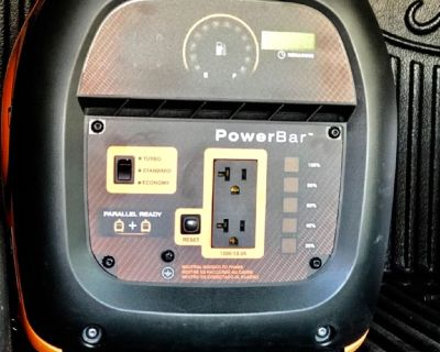 2 iQ2000 Generac Portable Inverter Generators and Parallel Kit
