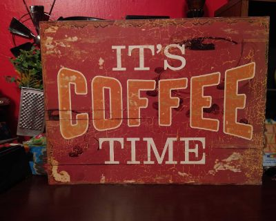 Coffee Wall Plaque